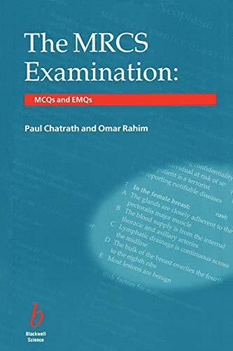 9780632054022: The MRCS Examination: MCQs and EMQs