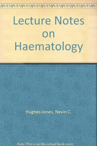 9780632054107: Lecture Notes on Haematology (The lecture notes series)