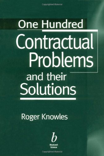 9780632055173: One Hundred Contractual Problems and their Solutions