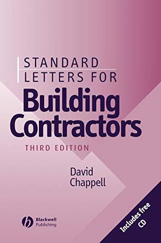9780632055562: Standard Letters for Building Contractors