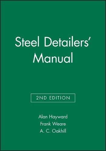 9780632055722: Steel Detailers' Manual