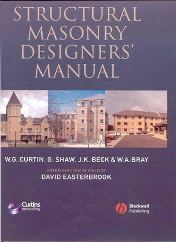 9780632056125: Structural Masonry Designers' Manual