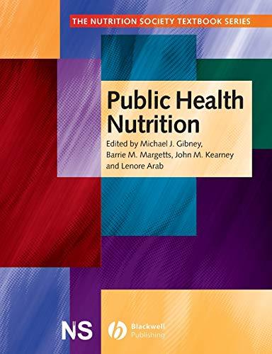 9780632056279: Public Health Nutrition (The Nutrition Society Textbook)