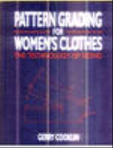 Pattern Grading for Women's Clothes (0632056924) by Cooklin, Gerry