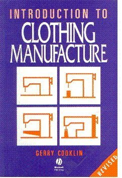9780632056972: Clothing Manufacture