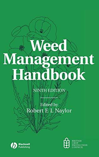 9780632057320: Weed Management Handbook
