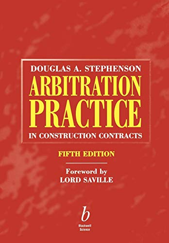 9780632057412: Arbitration Practice in Construction Contracts