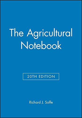 9780632058297: The Agricultural Notebook