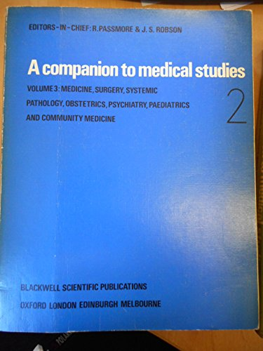 9780632058303: Companion to Medical Studies: Medicine, Surgery, etc