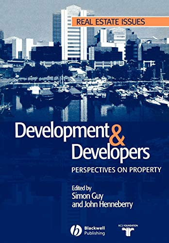 9780632058426: Development and Developers: Perspectives on Property