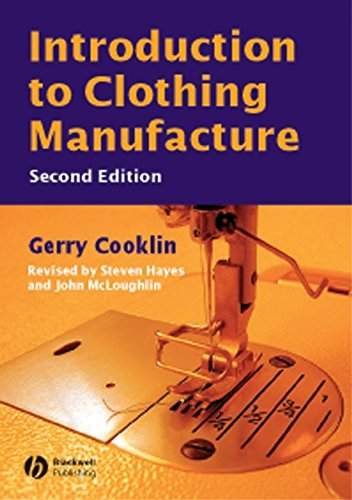 9780632058464: Introduction to Clothing Manufacture