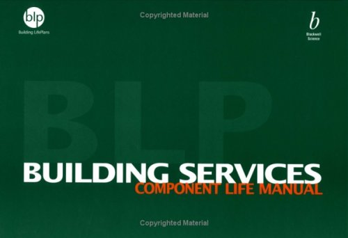 9780632058877: Building Services Component Life Manual: Building Life Plans
