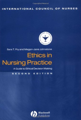 9780632059355: Ethics in Nursing Practice: A Guide to Ethical Decision Making