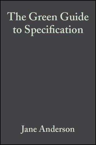 9780632059614: The Green Guide to Specification