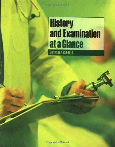 9780632059669: History and Examination at a Glance