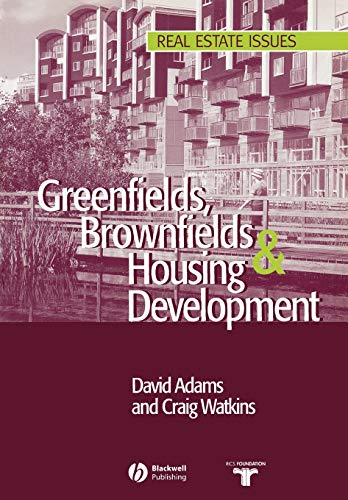 9780632063871: Greenfields Brownfields Housing (Real Estate Issues)