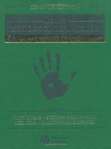 9780632064298: Rook's Textbook of Dermatology (4 vol. set.)