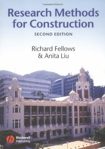 9780632064359: Research Methods for Construction