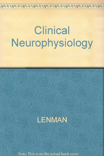 Clinical Neurophysiology: Lenman, J.A.R.