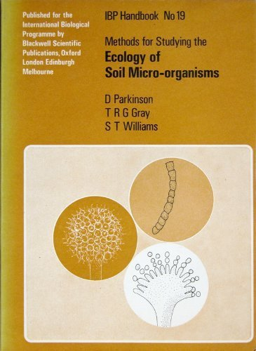 9780632082605: Methods for Studying the Ecology of Soil Microorganisms (IBP handbook)