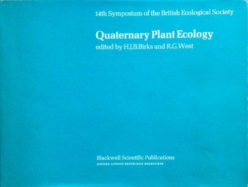9780632091201: Quaternary Plant Ecology (Symposium of the British Ecological Society)