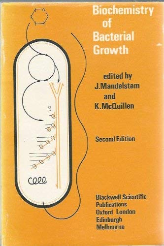 9780632098408: Biochemistry of bacterial growth,