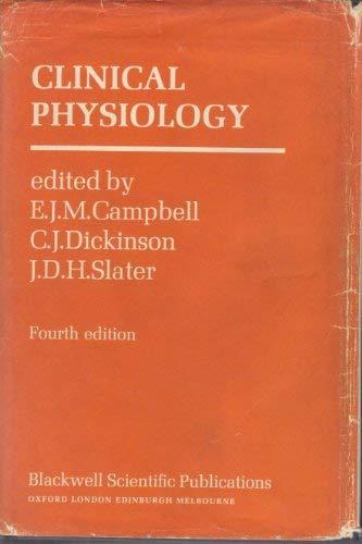 9780632099801: Clinical Physiology