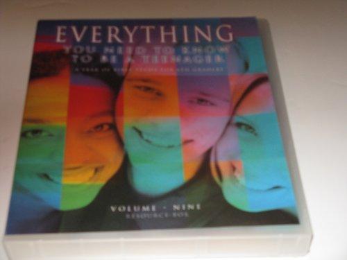 9780633194192: Everything You Need to Know to be a Teenager, Volume Nine Resource Box, A Year of Bible Study for 6th Graders