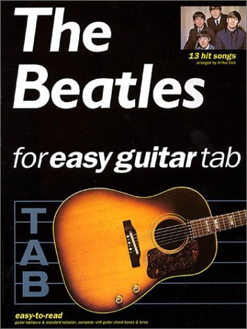 9780634000065: The Beatles for Easy Guitar Tab
