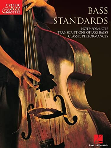 9780634000355: Classic Jazz Masters: Bass Standards