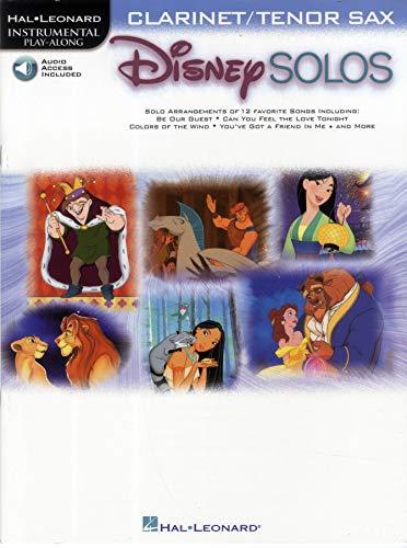 9780634000683: Disney Solos: For Clarinet/Tenor Saxophone