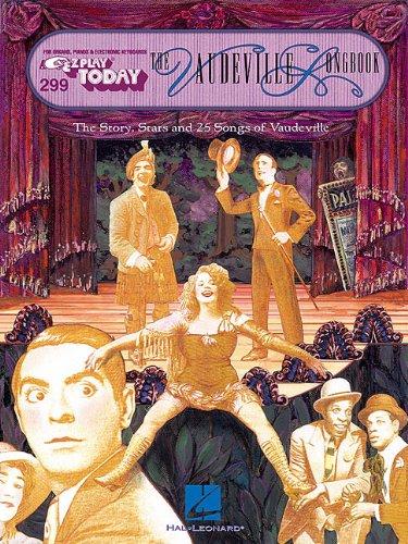 9780634001109: The vaudeville songbook piano