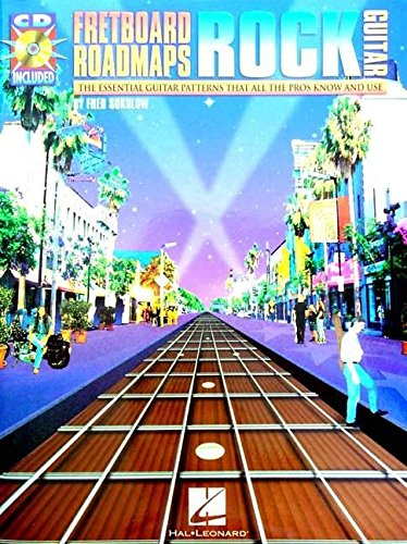 9780634001376: Fretboard Roadmaps-Rock Guitar: The Essential Guitar Patterns That All the Pros Know and Use