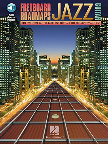 9780634001390: Fretboard Roadmaps for Jazz Guitar Bk/Online Audio