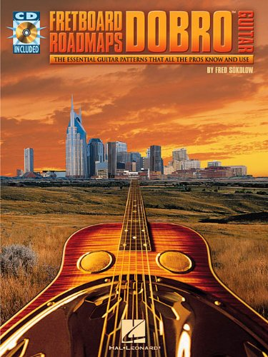 Fretboard Roadmaps for Dobro Guitar (0634001418) by Sokolow, Fred