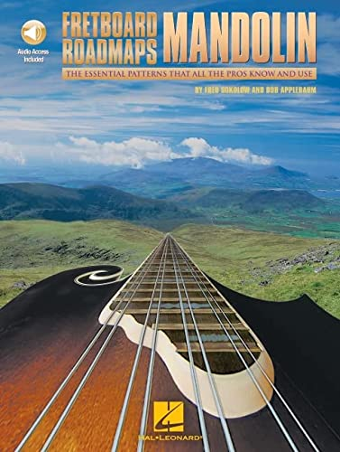 9780634001420: Fretboard Roadmaps Mandolin: The Essential Patterns That All the Pros Know and Use