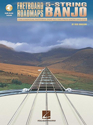 Fretboard Roadmaps: 5-String Banjo (0634001434) by Sokolow, Fred