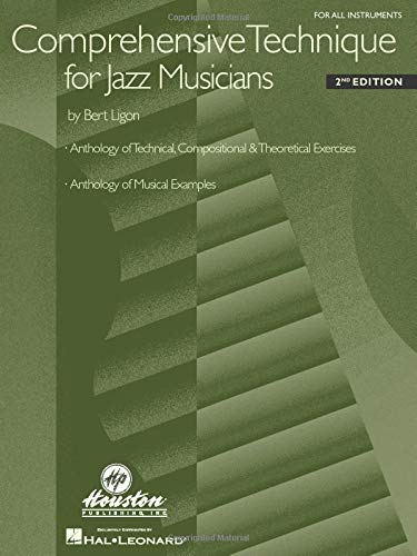 9780634001765: Comprehensive Technique for Jazz Musicians: For All Instruments