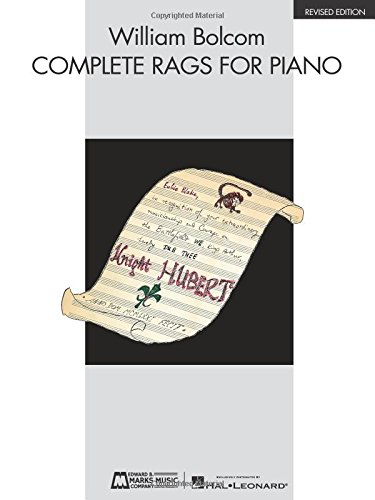 9780634001826: William Bolcom - Complete Rags for Piano: Revised Edition