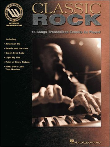 9780634002502: Classic Rock - Keyboard Recorded Versions