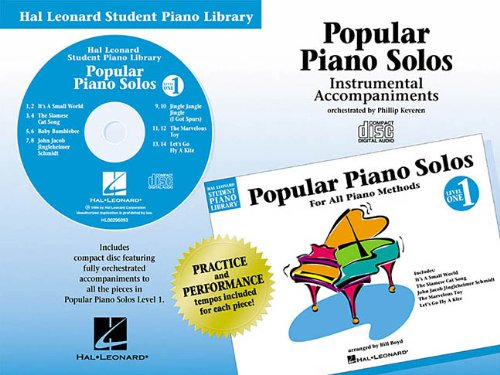 9780634002564: Hal Leonard Student Piano Library: Popular Piano Solos, Level 1
