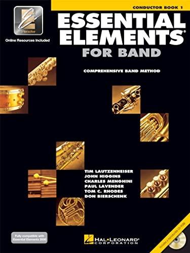 9780634003103: Essential Elements 2000, Book 1 Plus DVD: Conductor's Score