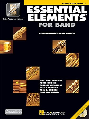 9780634003103: Essential Elements for Band - Conductor Book 1 with EEi