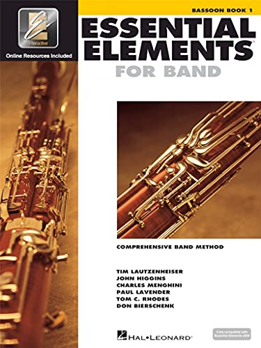 9780634003134: Essential elements for band - book 1 with eei basson+enregistrements online