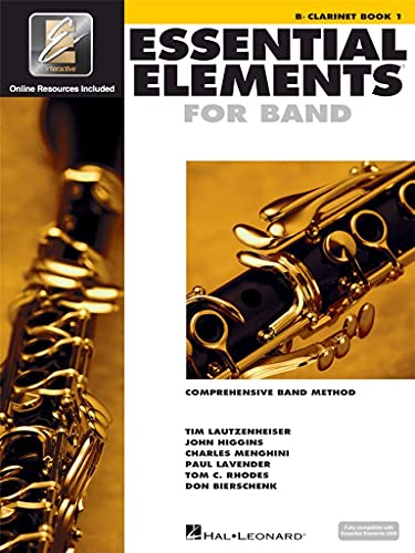 9780634003141: Essential Elements for Band - BB Clarinet Book 1 with Eei