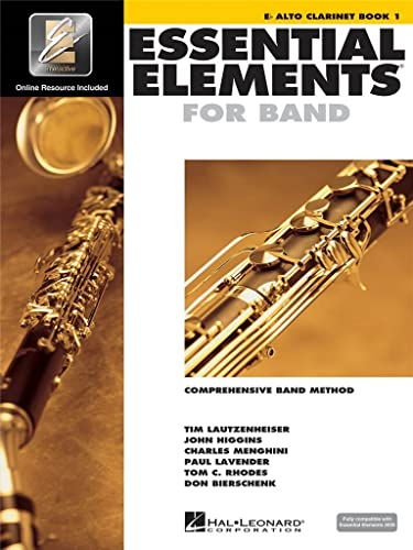9780634003158: Essential Elements 2000, Book 1 Plus DVD: Eb Alto Clarinet
