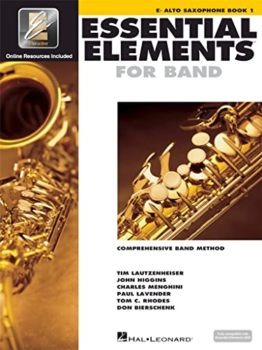 9780634003172: Essential Elements for Band - Book 1 with Eei: Eb Alto Saxophone