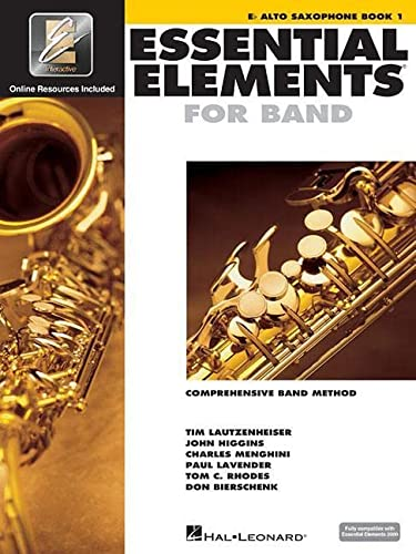 9780634003172: Essential Elements 2000: Eb Alto Saxophone, Book 1