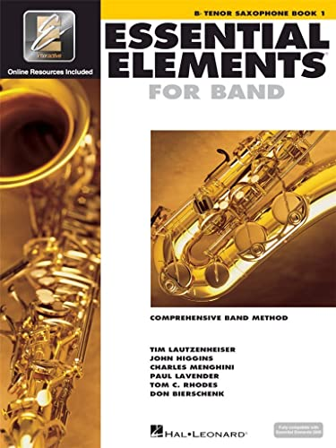 9780634003189: Essential Elements for Band - Bb Tenor Saxophone Book 1 with EEi