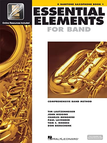 9780634003196: Essential Elements for Band - Eb Baritone Saxophone Book 1 with EEi